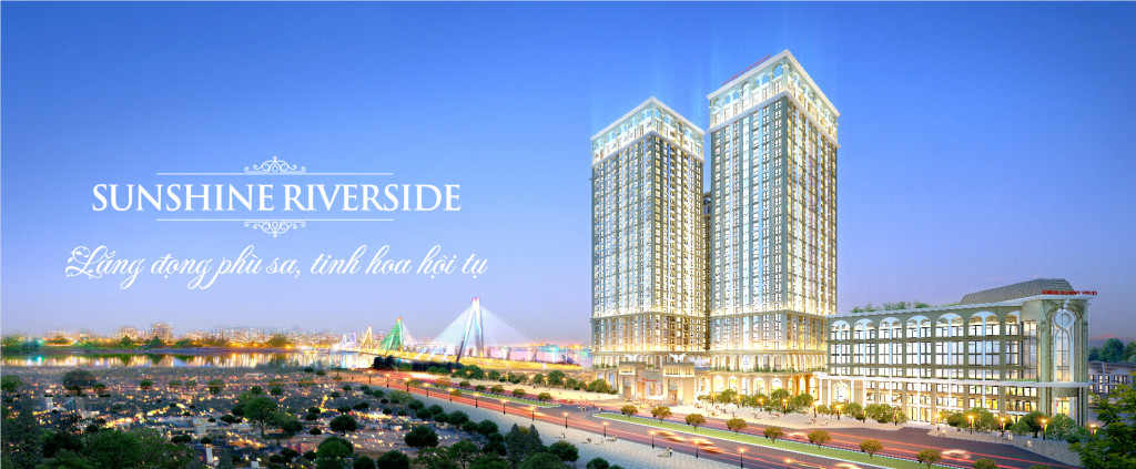 Advantages when renting apartments in Sunshine Riverside Hanoi