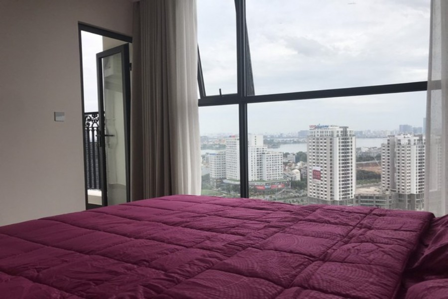 Conner apartment for rent in R3 tower Sunshine riverside 101.84sqm with red river view 1