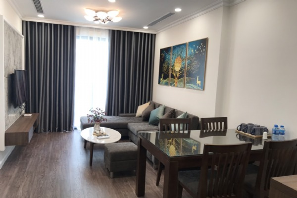 High floor and modern 2 bedroom apartment for rent in R1 tower Sunshine Riverside